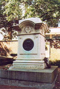 Edgar Allen Poe, gravesite, Baltimore, MD Edgar Allan Poe, Ghost Stories,