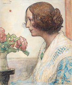 Carl Larsson - Anna-Stina (1905)
