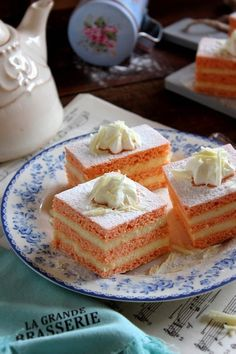 Vanilla Cake, Waffles, French Toast, Cereal, Cheesecake, Cooking Recipes, Meals, Breakfast, Cook Books