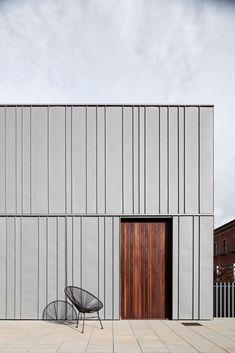 Industrial Architecture, Facade Architecture, Residential Architecture, Japanese Architecture, Ancient Architecture, Sustainable Architecture, Landscape Architecture, Zinc Cladding, Exterior Wall Cladding