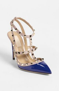 Valentino 'Rockstud' Pump available at #Nordstrom Why does Valentino have to be so awesome....