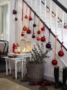 Resultado de imagem para ideas de decoracion de navidad