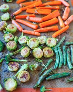 When you serve a delicious roasted chicken or rack of lamb, you'll always need that signature side dish of divine vegetables. Why settle for boring, bland tasting vegetables when you can have a flavorful recipe that your guests will never expect. Made with lemon, herbs and a touch of coconut oil, this recipe for roasted vegetables will take the bla out of bland and have everyone asking for more.