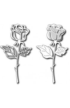 Frantic Stamper - Long Stem Rose.....currently out of stock (available for back order)