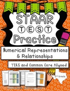 released staar test 5th grade math