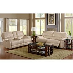 Living Room Furniture - Coronado Power Reclining Sofa. Like the color of these
