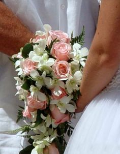 Roses & Orchids Bridal Bouquet