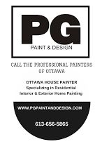 PG PAINT & DESIGN Ottawa House Painters - Residential Interior & Exterior House Painting