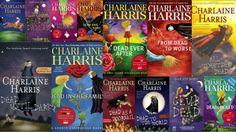 "Charlaine Harris's ""Sookie Stackhouse"" vampire series."