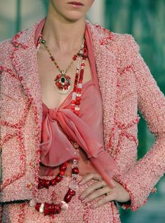CHANEL SHRIMP PINK SUIT  this is the suit i want before i die!!!