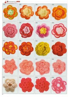 Free crochet patterns Flowers and more 2180 crochet motif magazines | make handmade, crochet, craft