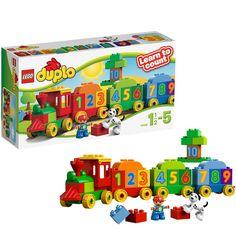 BARGAIN LEGO DUPLO 10558 Number Train NOW £9.44 At Amazon - Gratisfaction UK Bargains #lego #kids