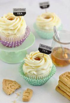 Tea Cupcakes.