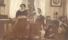 My brother's G-Aunt and G-Uncle 1912 Weyburn, Sask.