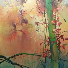 RANDALL DAVID TIPTON oil on canvas 24x24