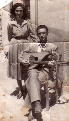 Ο Κάσας…με την Ειρήνη Μαλανδράκη..1952