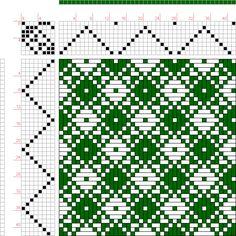 draft image: Page 306, Figure 1, Orimono soshiki hen [Textile System], Yoshida, Kiju, 8S, 8T