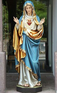 , during the Novena preached in the Church of Our Lady of Lourdes in preparation for th. Blessed Mother Mary, Blessed Virgin Mary, Catholic Art, Religious Art, Religious Icons, Ste Therese, Jesus E Maria, Virgin Mary Statue, Images Of Mary