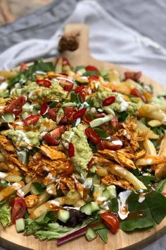 Pulled Chicken, Tasty, Yummy Food, Soul Food, Vegetable Pizza, Pasta Salad, Chicken Recipes, Lunch, Snacks