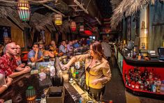This slightly kitschy, rum-filled tiki bar has everything from a full treasure chest to images of the cyclops who is apparently in charge.  The fun continues with a ton of different rum cocktails...