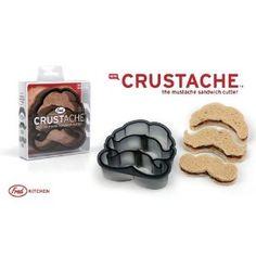 """Tagliapasta/Formine per Toast """"CRUSTACHE"""" - a forma di 3 baffetti diversi - Mustache: Amazon.it: Casa e cucina"""