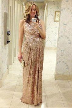 Pregnancy Bridesmaid Dress,Long Bridesmaid Dresses,Champagne Bridesmaid Dress,,Robe De Demoiselle D'Honneur Longue,Fs018