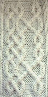 Ivanova and Carter Knit: Celtic Knot #6