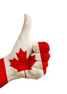 Thumbs up, Canada!