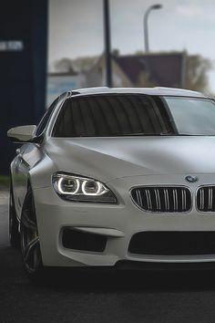 Matte white BMW M5! Posh