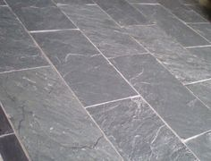 Blue Slate Floors Showroom Bluegrey And Black Brazillian Riven - Sanding slate floor