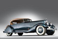 1933 Chrysler Custom Imperial Five-Passenger Phaeton #ClassicCars #VintageCars #VCI