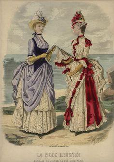 LA MODE ILLUSTREE  ... dated August 8, 1886