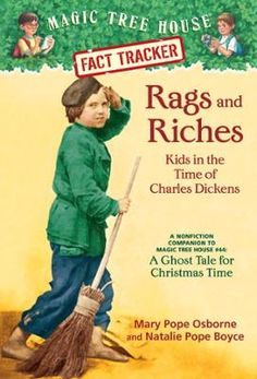 Magic Tree House Fact Tracker #22: Rags and Riches: Kids in the Time of Charles Dickens by Mary Pope Osborne,Natalie Pope Boyce,Sal Murdocca, Click to Start Reading eBook, Track the facts with Jack and Annie!  When Jack and Annie got back from their adventure inMagic Tre