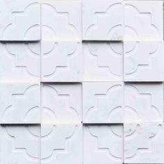 Brogliato Revestimentos - Coleções - Print - Tile White 30x30 cm.