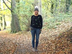 Mistletoe Christmas Jumper And Your Chance To Win A Serape Or Scarf - What Lizzy Loves Jean Smart, Autumn Walks, Christmas Jumpers, Mistletoe, Jeans Style, My Outfit, Style Me, Leather Pants, Boyfriend
