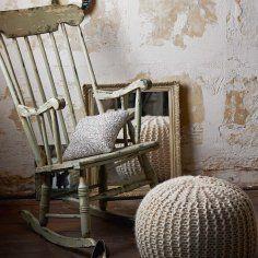 Sedia a dondolo (aggiungere cuscini!)