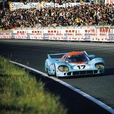 Jo Siffert / Derek Bell, #17 Porsche 917 LH, Le Mans 1971