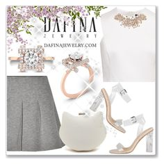 """Dafina Jewelry"" by andrejae ❤ liked on Polyvore featuring T By Alexander Wang, love, FiRE, Ted Baker, jewelry, rings, rosegold and dafina"