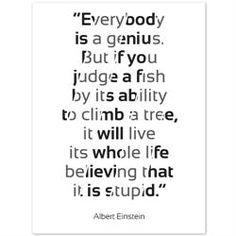 Clever quote by Albert Einstein