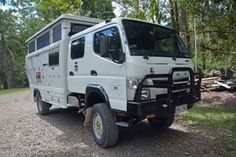 All terrain motor home. Made by an Australian company.