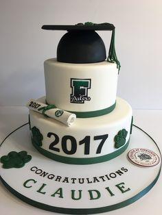Dalers graduation cake