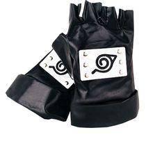 Shining Naruto Cosplay Mittens Kakashi Hatake Naruto Uzumaki Costume Gloves