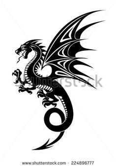 Free dragon vector art Free vector for free download about (91) Free vector in ai, eps, cdr, svg format .