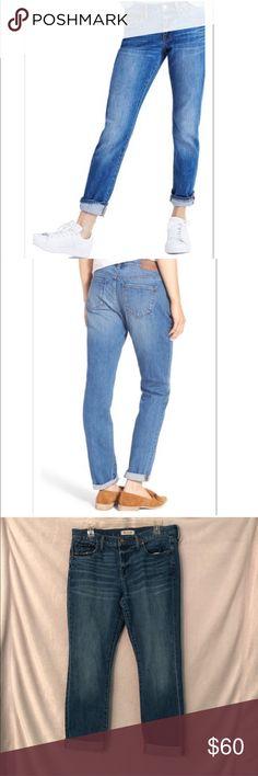 """c311272216f0 Madewell Slim Boyfriend Jeans (A6) Madewell """"The Slim Boyjean"""" in Walton  Wash"""