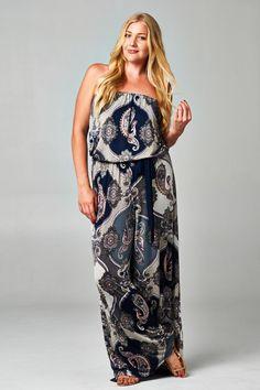 48 plus size summer striped dress outfit 33 Striped Dress Outfit, Dress Outfits, Dress Up, Casual Dresses, Curvy Girl Fashion, Love Fashion, Plus Size Fashion, Fashion Styles, Plus Size Dresses