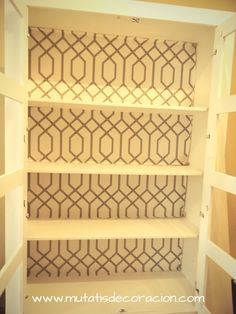 Chalk Paint, Bookcase, Shelves, Interior, House, Painting, Home Decor, Diy, Home