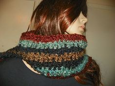 Rustic and Sky Scarf Neck Warmer for a Male or by Susieskorner, $22.00