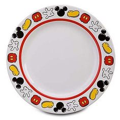 Image result for mickey mouse plate