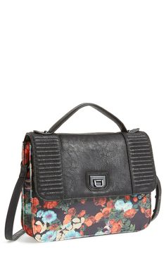 Fall florals: A gorgeous grown-up version of the classic schoolgirl satchel.