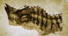 Greg Broadmore - Dino Head